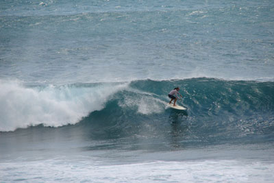 Playa Rosada's reef break